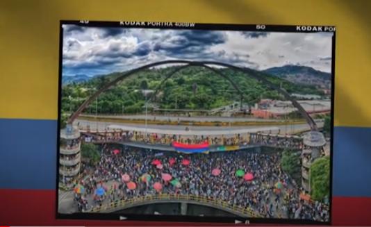Medellín resiste desde el arte y la marcha pacífica