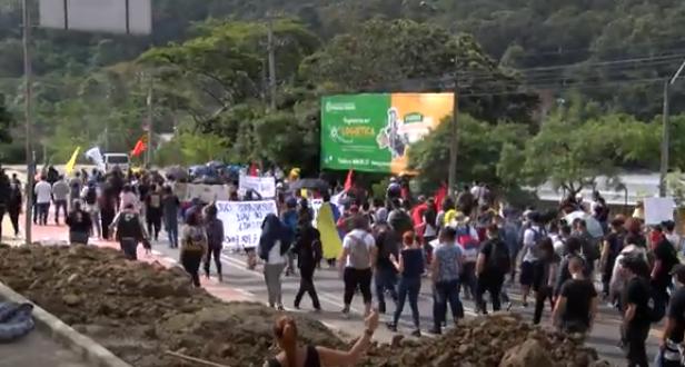 Subsecretaría de Construcción de Paz Territorial acompaña marchas en Medellín