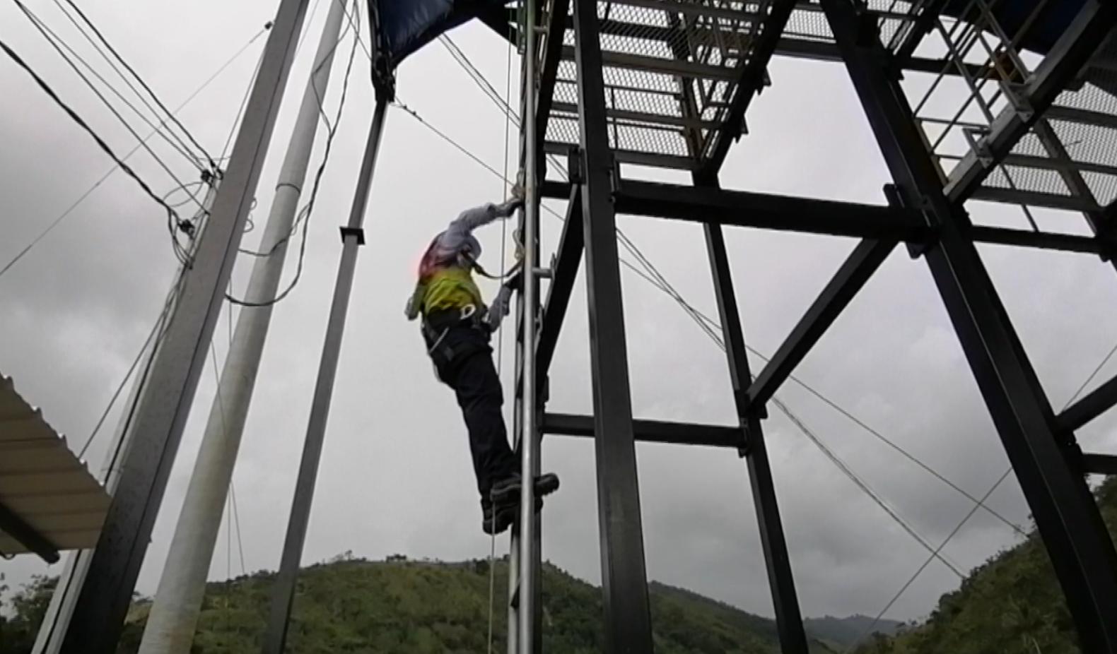 MinTrabajo certificó torre de entrenamiento en alturas del Túnel de Occidente