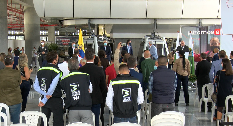 Autoridades destacaron beneficios del Metrocable Picacho