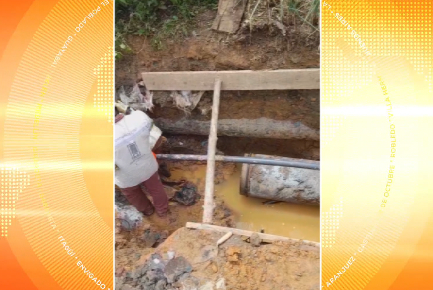 Fuga de agua deja sin servicio de acueducto a 9.256 clientes en San Cristóbal