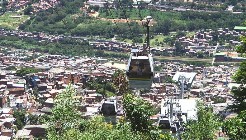 Metrocable Picacho ayudará a reducir emisiones de CO2 en el Valle de Aburrá
