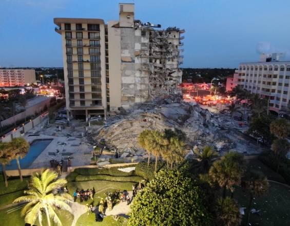 Una familia paisa estaría entre escombros de edificio desplomado en Miami