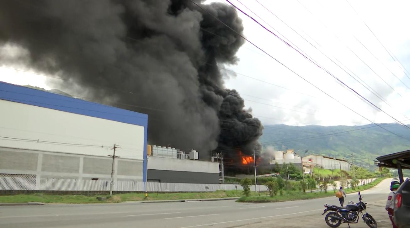 Dos contratistas y un brigadista, las víctimas del incendio en Girardota