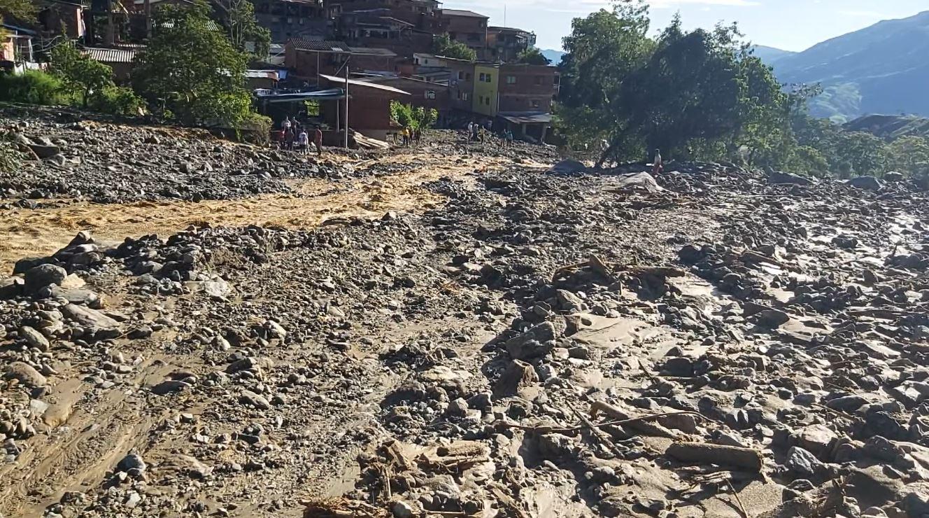27 viviendas afectadas por las fuertes lluvias en Briceño
