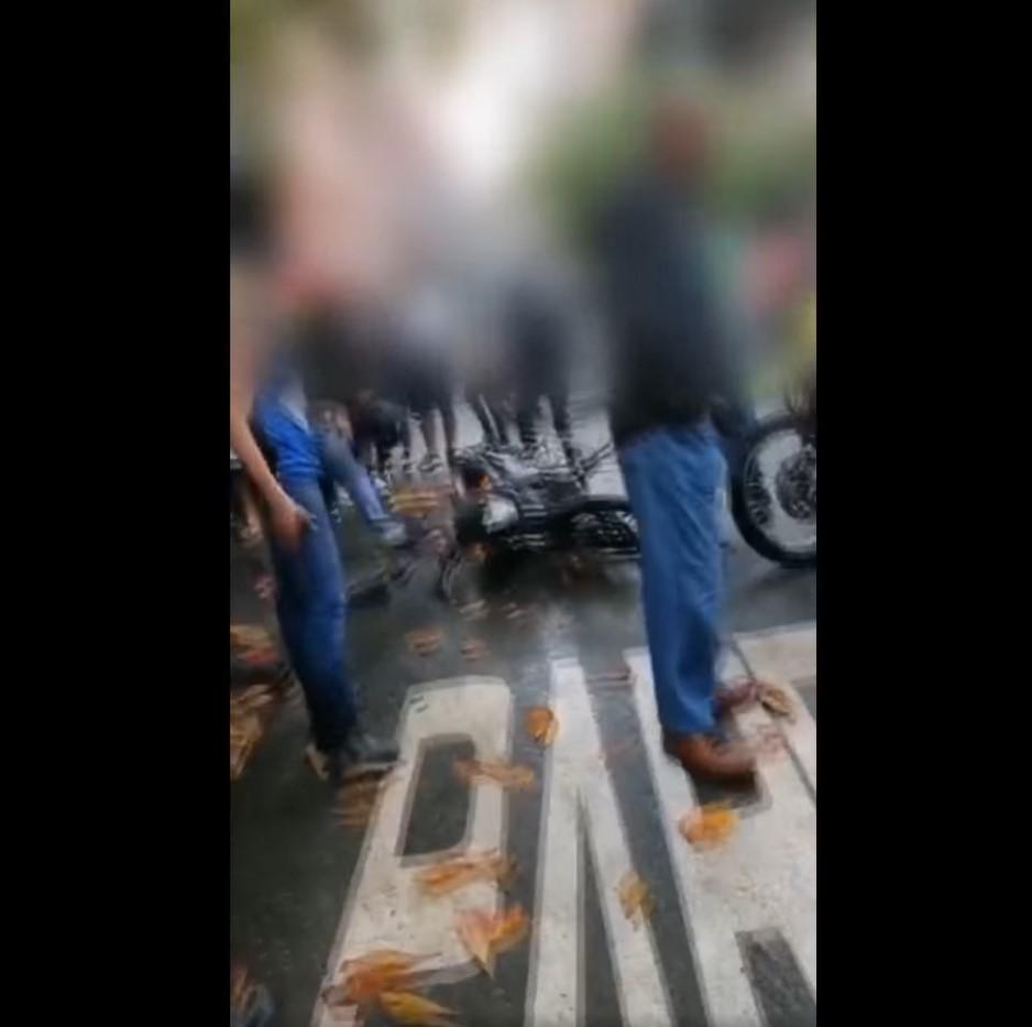 (Video) Frustan presunto robo en el barrio Cabañas