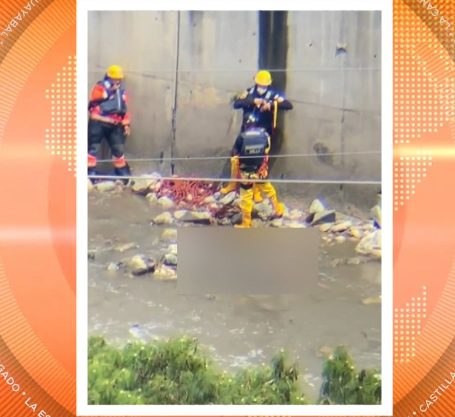 Autoridades rescataron cadáver del río Medellín