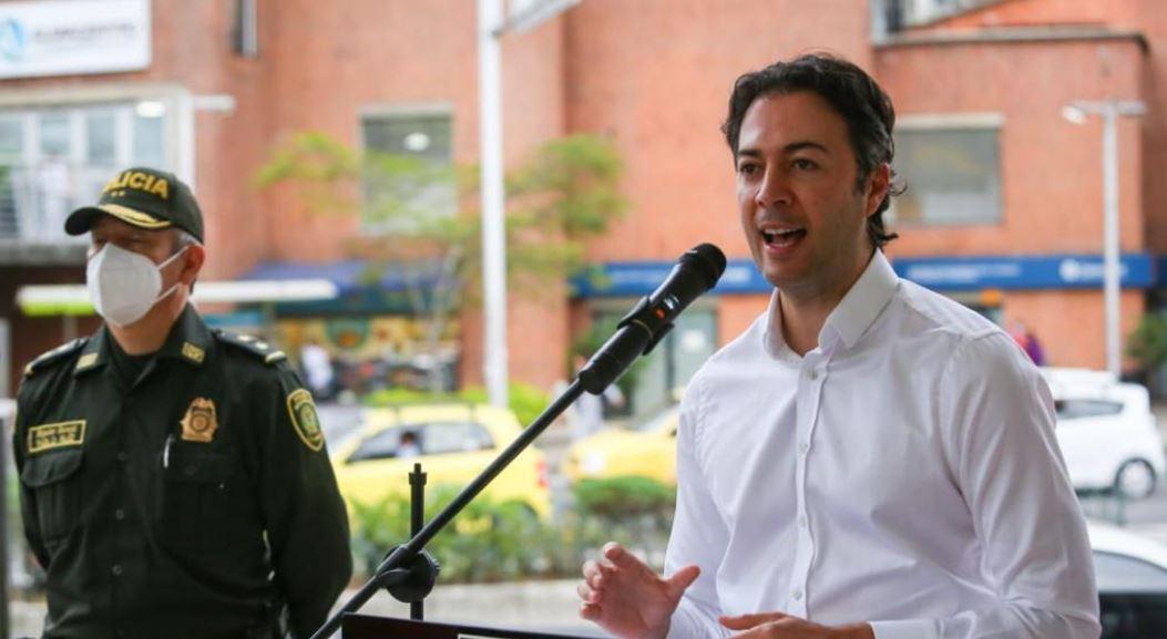 """No nos va a temblar la mano para sancionar a los culpables"" Daniel Quintero"