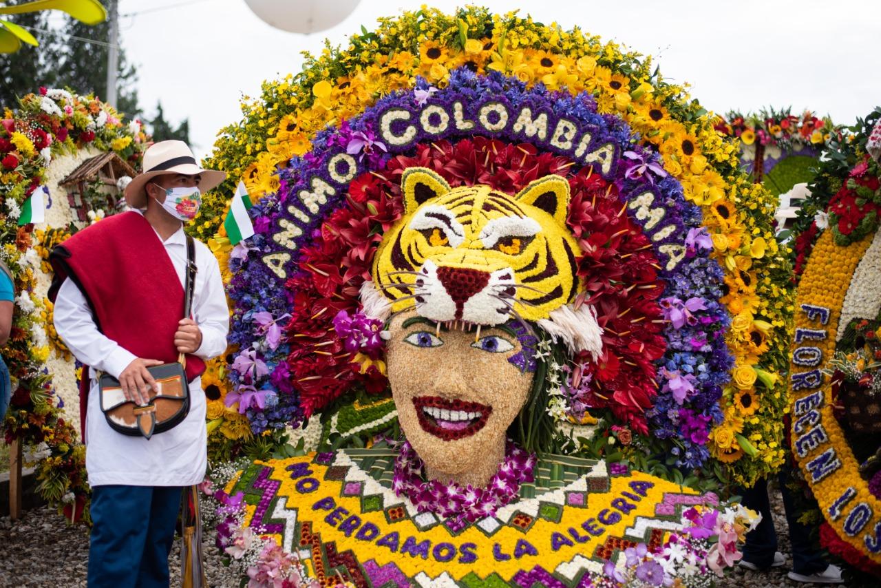 Reviva las mejores imágenes de las silletas ganadoras de la Feria de las Flores 2020