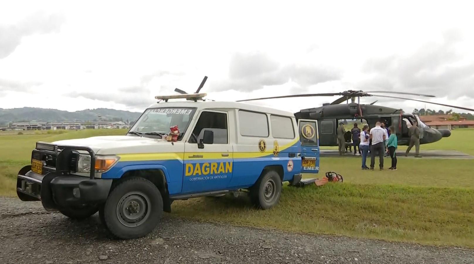 El clima no ha dejado entrar las ayudas humanitarias a Ituango