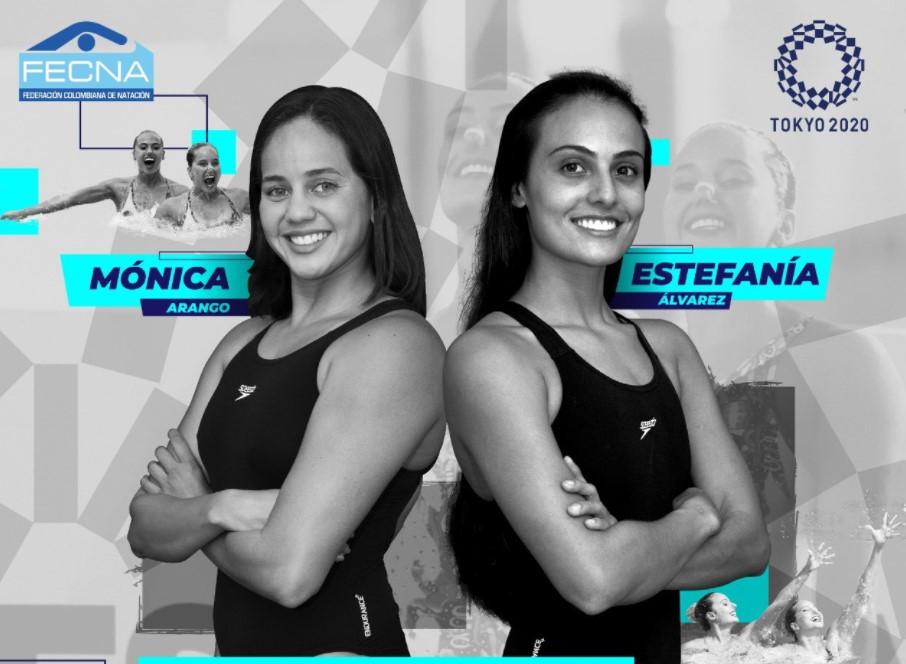 Natación artística colombiana continúa preparación para Juegos Olímpicos