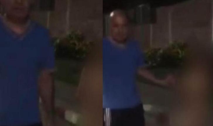 Padrastro sacó a niño sin ropa a la calle para castigarlo