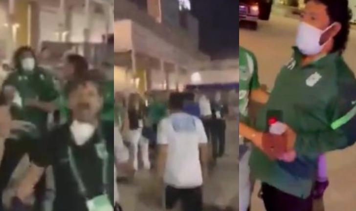 (Video) Hinchas de Millonarios atacan a René Higuita en Miami