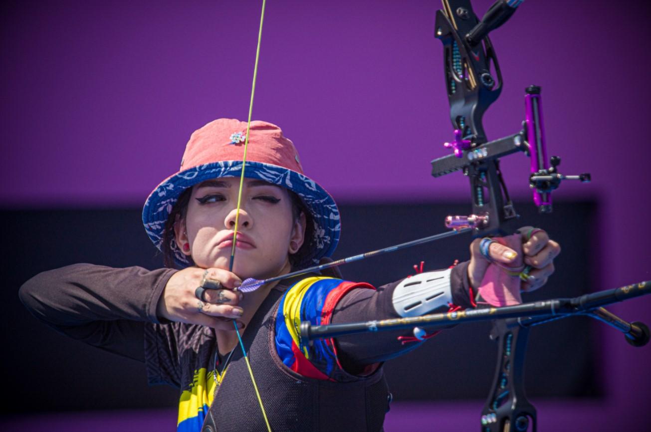 Valentina Acosta se despide de los Juegos Olímpicos 2020