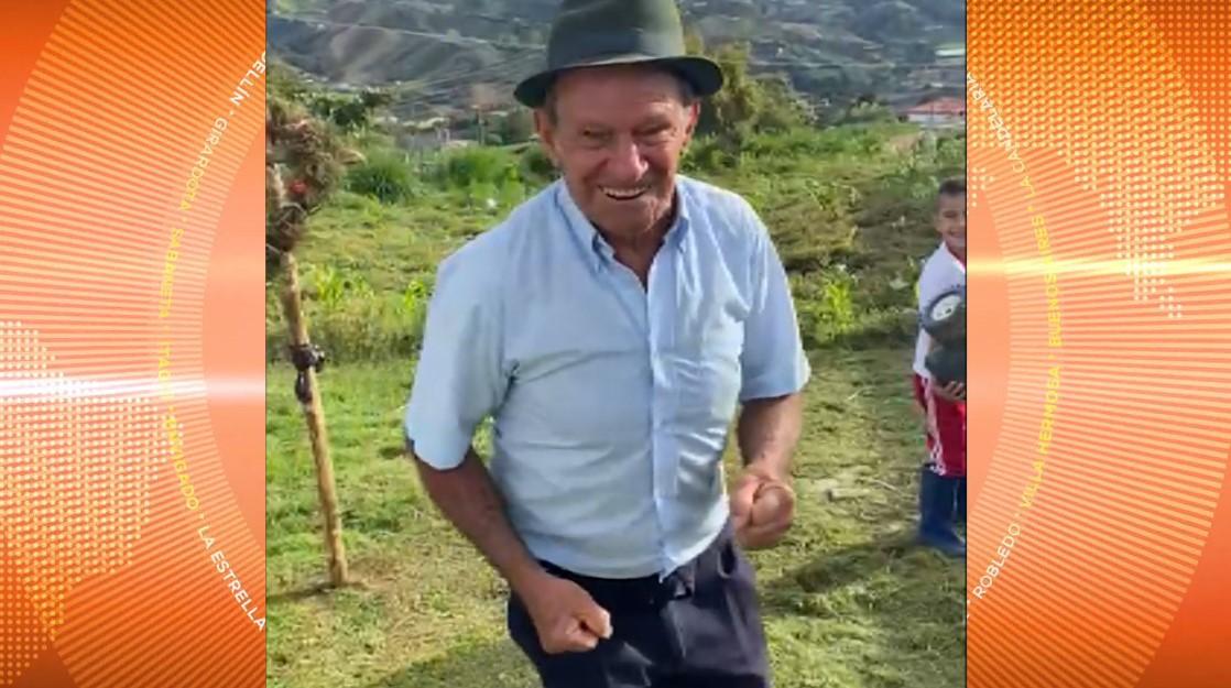 La solidaridad de un joven paisa le cambió la vida a un abuelito en El Carmen de Viboral
