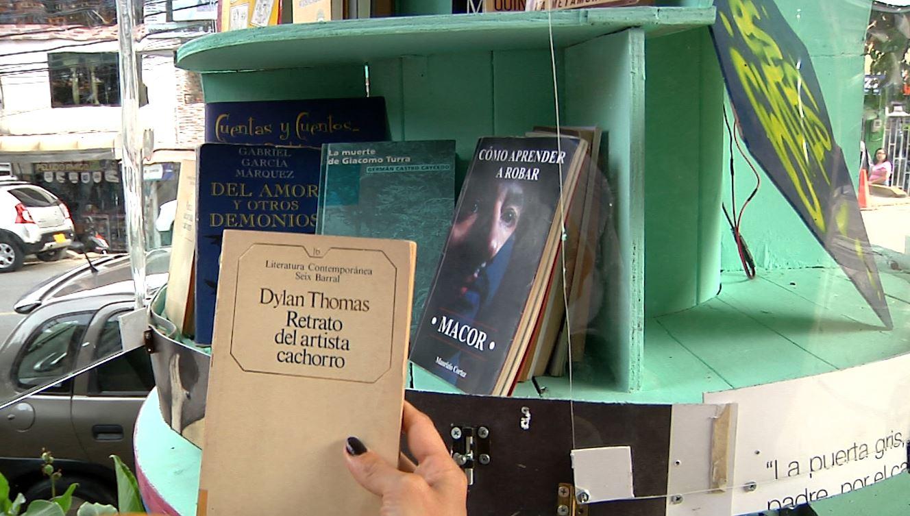 Libros Libres, biblioteca ambulante en la Comuna 13