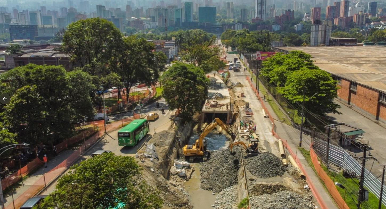 Construcción del Metroplús del Sur llegó al 30 %