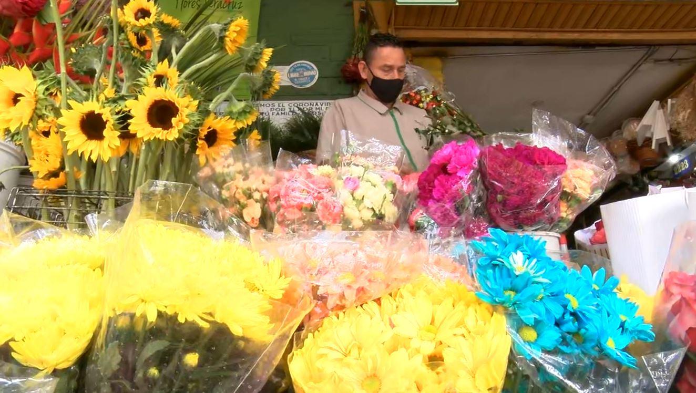 Empiezan a escasear algunas flores en Medellín