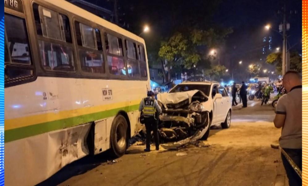 (Video) Fuerte accidente de tránsito se registró en Carabobo
