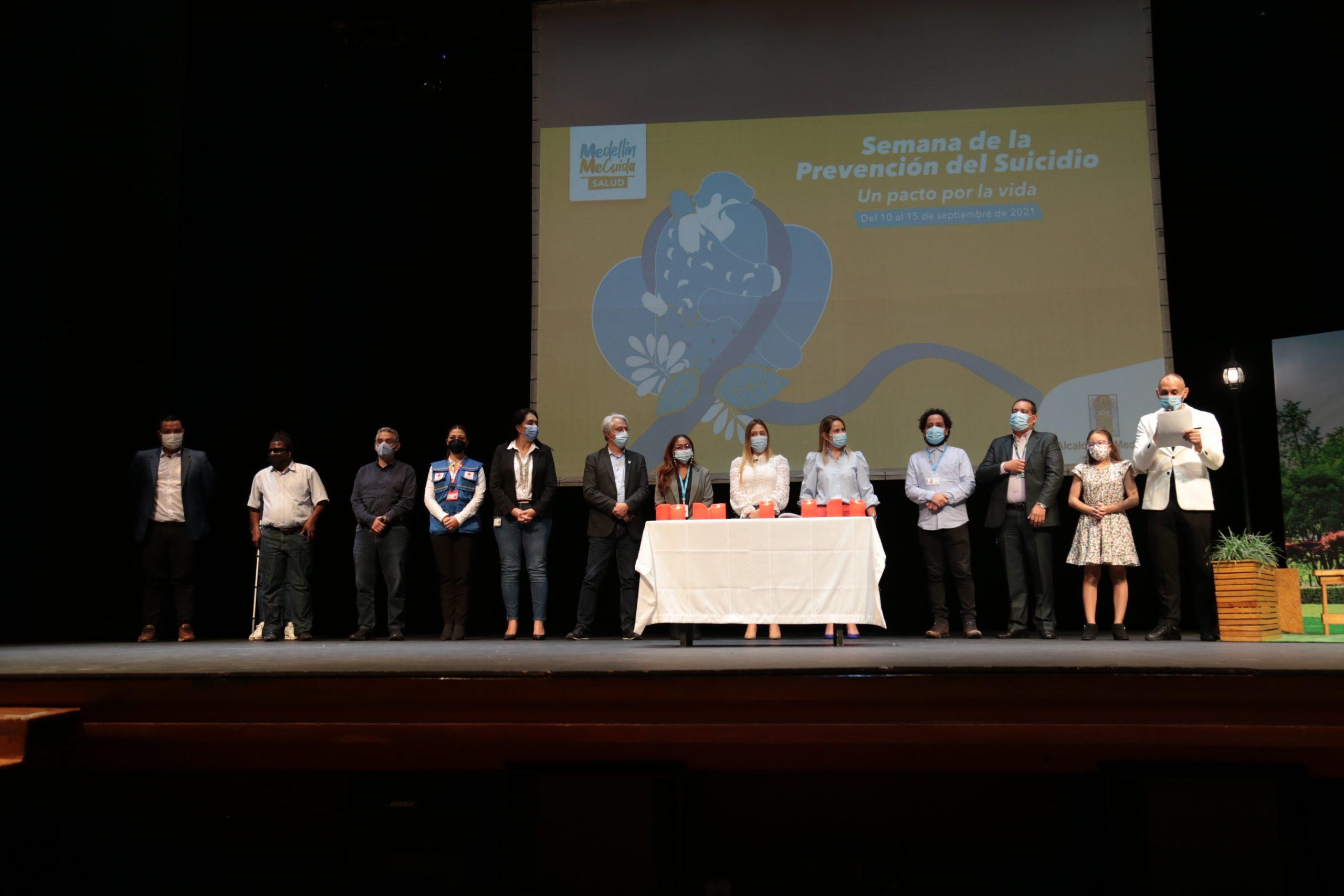 Medellín firma pacto por la vida para la prevención del suicidio