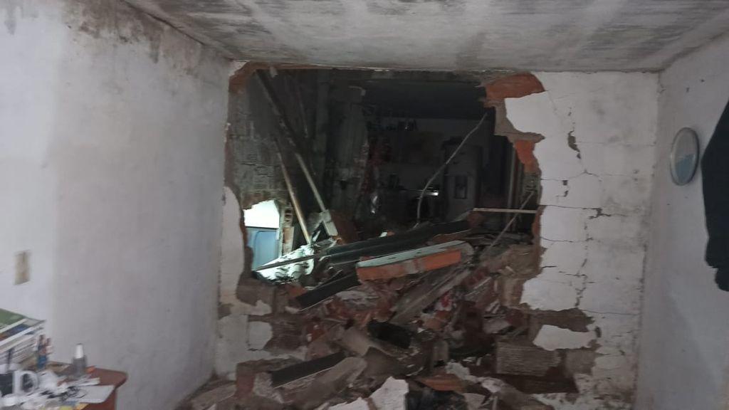 (Video) Fuerte explosión en Pedregal dejó cinco personas lesionadas