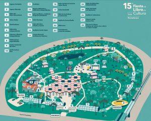 Mapa Fiesta del libro y la cultura