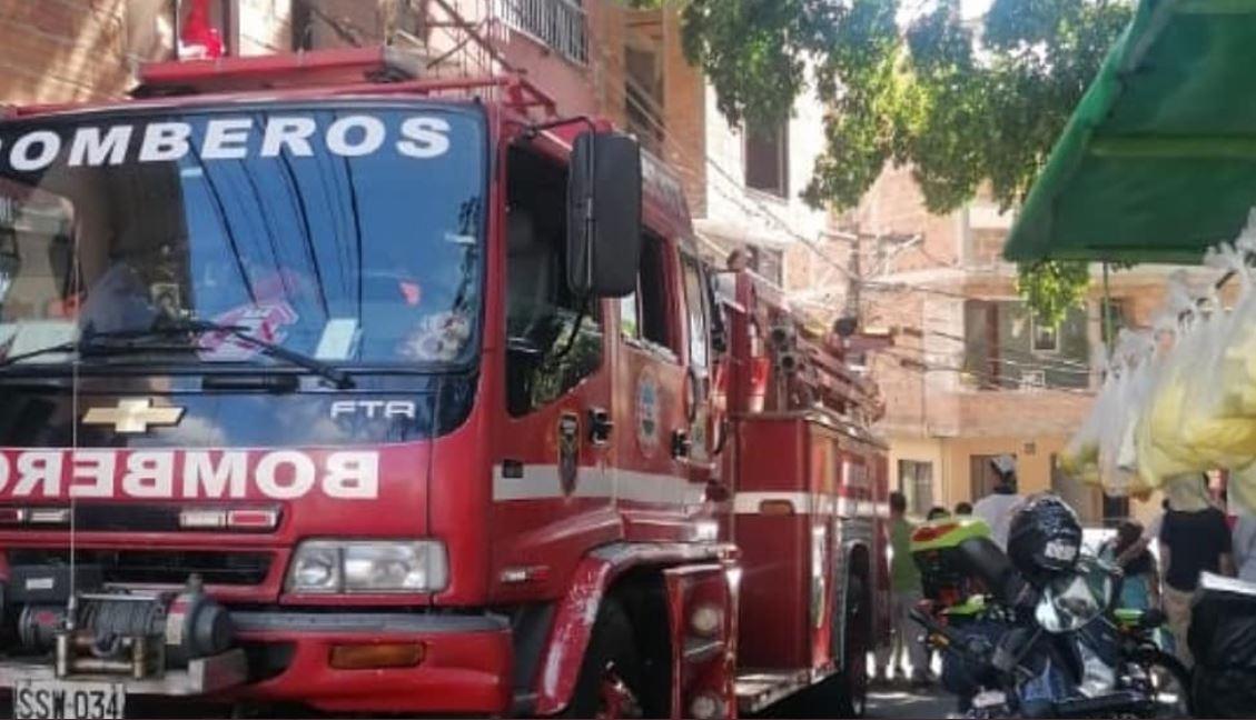 Explosión de una pipeta de gas dejó una persona muerta en Bello