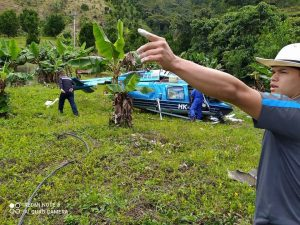 (Fotos) Momento exacto de caída de helicoptero en Cañasgordas - Noticias de Colombia