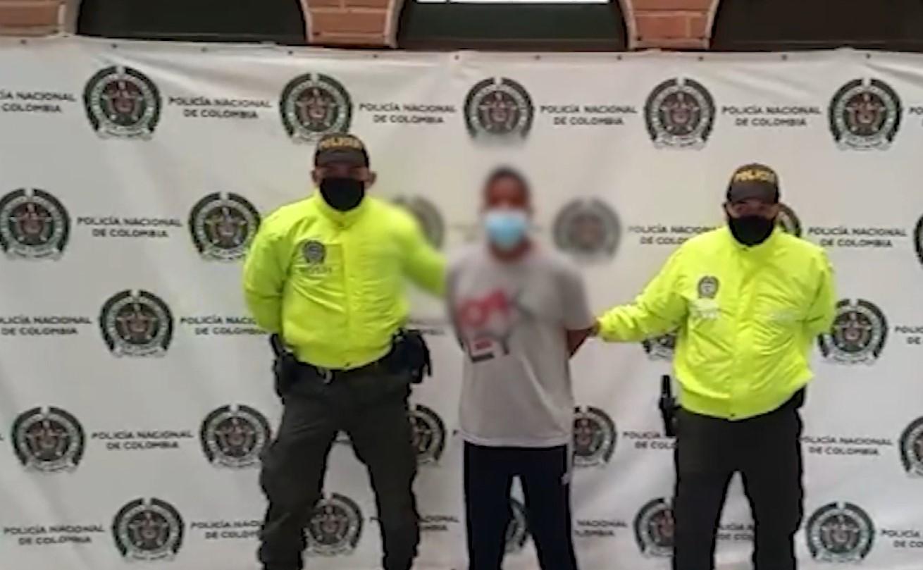 (Video) Cayó alias Jarry presunto fletero captado en cámara