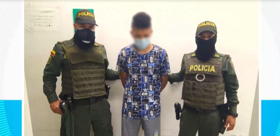 (Video) Joven apuñaló a su mascota y fue capturado en Itagüí