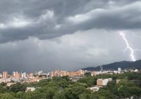 aguacero Medellín