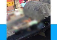 Camión aplastó a polizones que viajaban en la carga - Captura de video