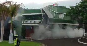 La Palma lava arrasa con todo